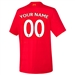 New Balance Youth Liverpool 'CUSTOM' Home '16-'17 Replica Soccer Jersey (Red)