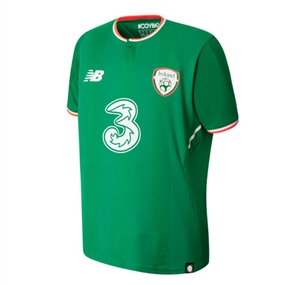 New Balance Youth Ireland Home Jersey '17-'18 (Jolly Green)