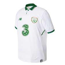 New Balance Youth Ireland Away Jersey '17-'18 (White)
