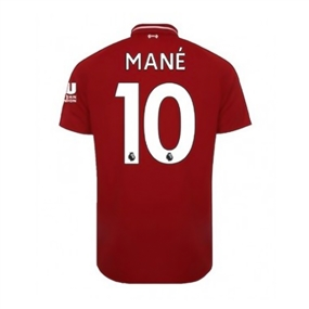 New Balance Youth Liverpool 'MANE 10' Home Jersey '18-'19 (Red Pepper)