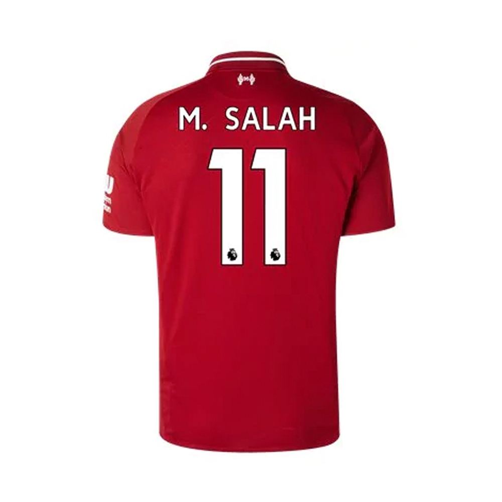 e3a080976 New Balance Youth Liverpool  M. SALAH 11  Home Jersey  18- 19 (Red ...