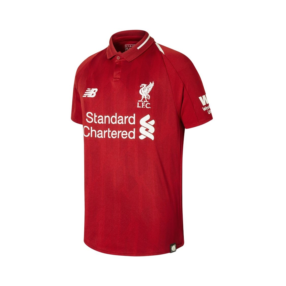 reputable site a6902 00df4 New Balance Youth Liverpool 'M. SALAH 11' Home Jersey '18-'19 (Red Pepper)