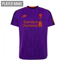 New Balance Youth Liverpool Away Jersey '18-'19 (Deep Violet)