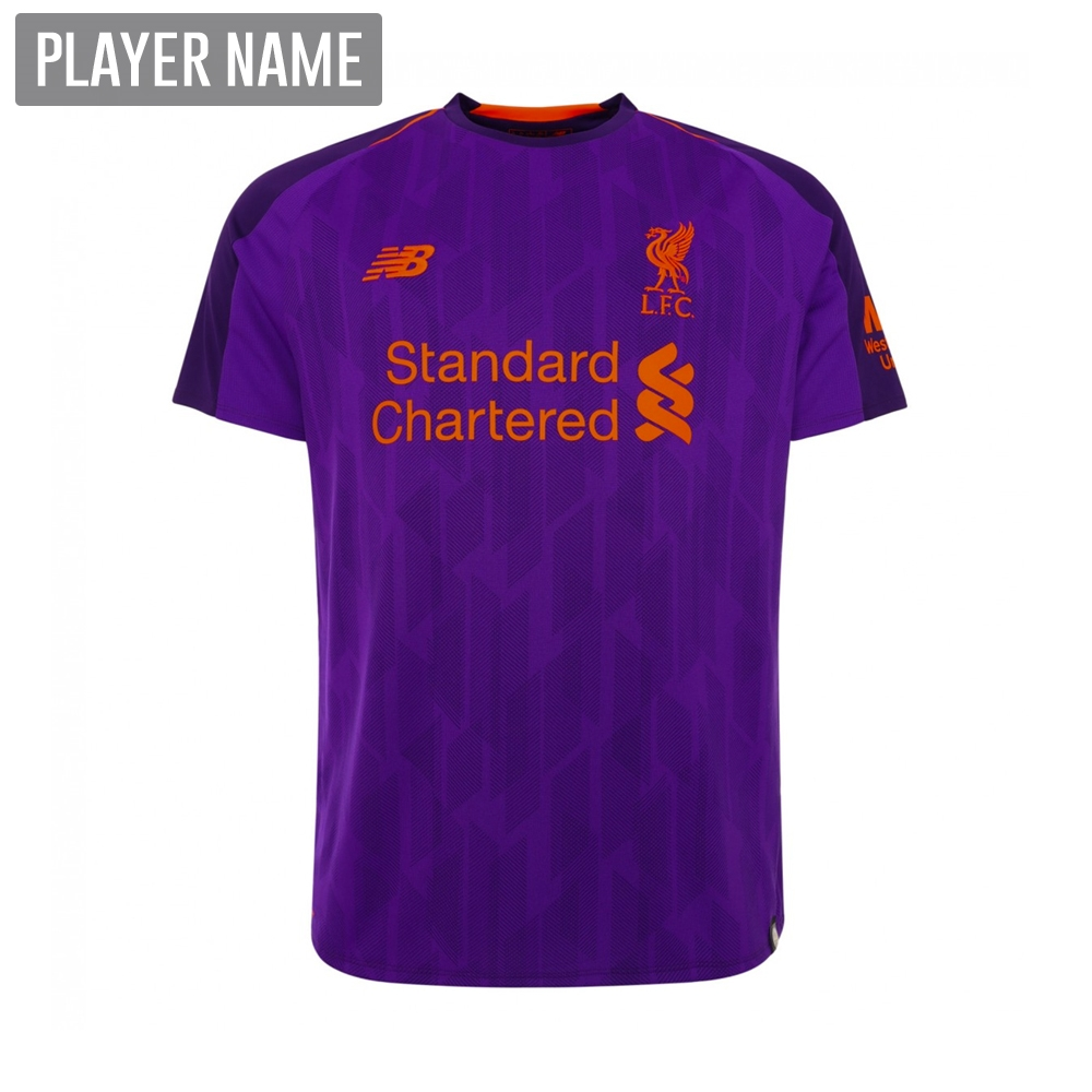 d240b4c8f New Balance Youth Liverpool Away Jersey  18- 19 (Deep Violet ...
