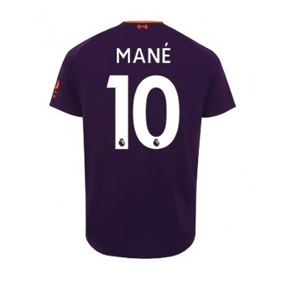 New Balance Youth Liverpool 'MANE 10' Away Jersey '18-'19 (Deep Violet)
