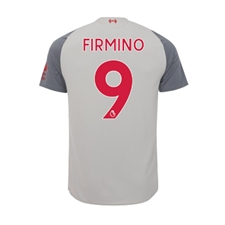 New Balance Youth Liverpool 'FIRMINO 9' Third Jersey '18-'19 (Grey)