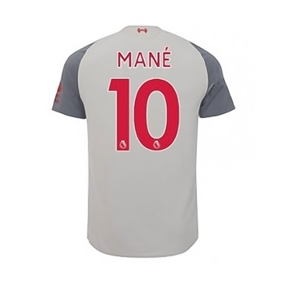 New Balance Youth Liverpool 'MANE 10' Third Jersey '18-'19 (Grey)