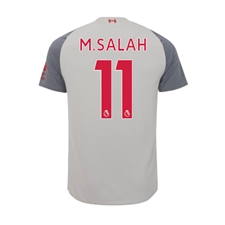 New Balance Youth Liverpool 'M. SALAH 11' Third Jersey '18-'19 (Grey)