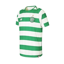 New Balance Youth Celtic FC Home Jersey '18-'19 (White/Celtic Green)
