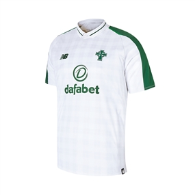 New Balance Youth Celtic FC Away Jersey '18-'19 (White/Green)