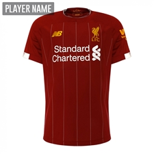 New Balance Youth Liverpool Home Jersey '19-'20 (Red Pepper/White)