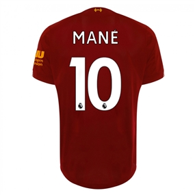 New Balance Youth Liverpool 'MANE 10' Home Jersey '19-'20 (Red Pepper/White)