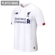 New Balance Youth Liverpool Away Jersey '19-'20 (White/Navy/Team Red)