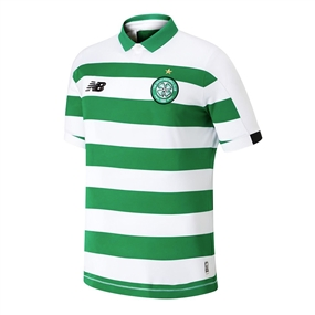 New Balance Youth Celtic FC Home Jersey '19-'20 (White/Celtic Green)