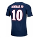 Nike Youth PSG NEYMAR 10 Home T-Shirt (Midnight Navy/White)
