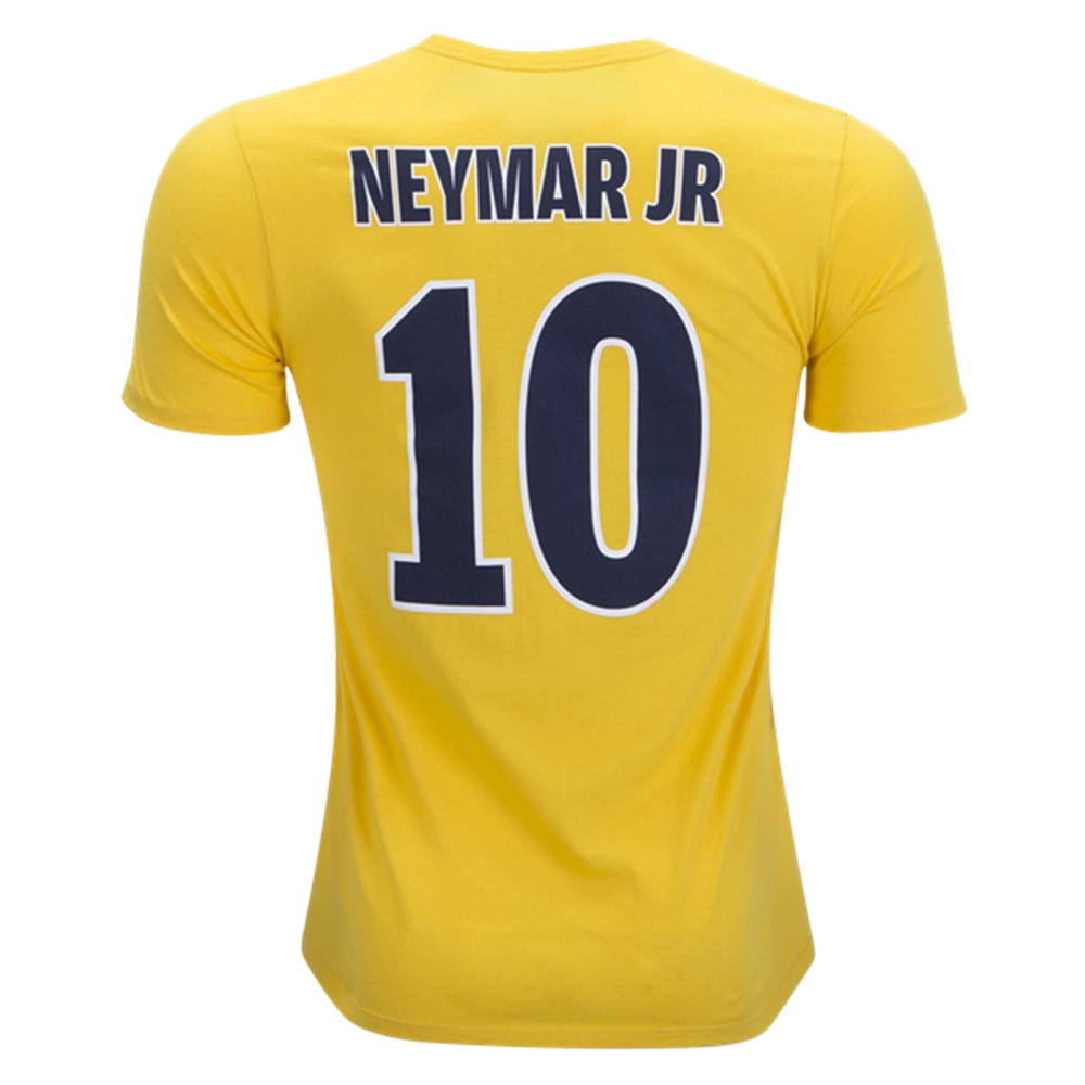 info for 6c161 50254 Nike Youth PSG NEYMAR 10 Away T-Shirt (Tour Yellow/Midnight Navy)