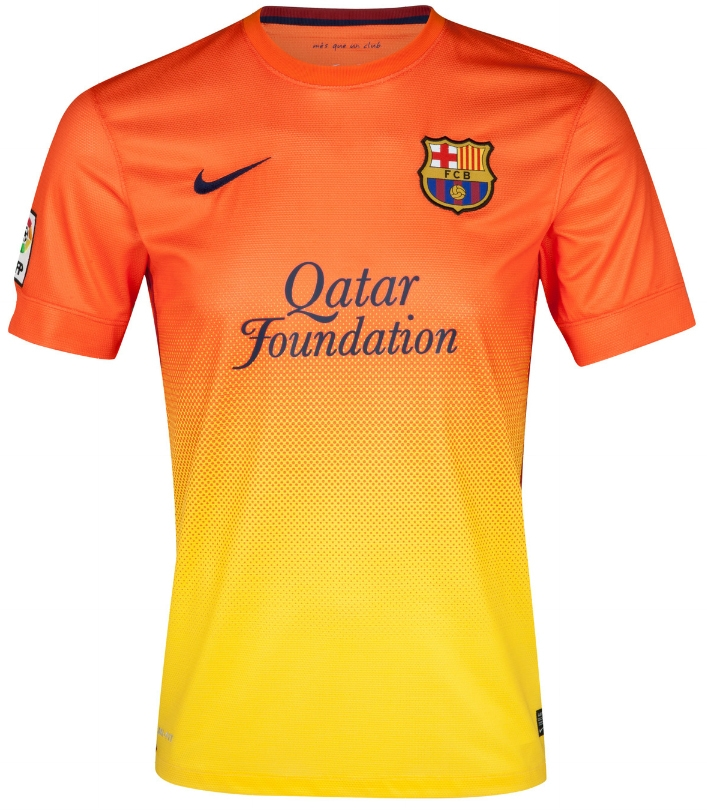 f873ad064da Nike Youth FC Barcelona  MESSI 10  2012-2013 Away Soccer Jersey ...