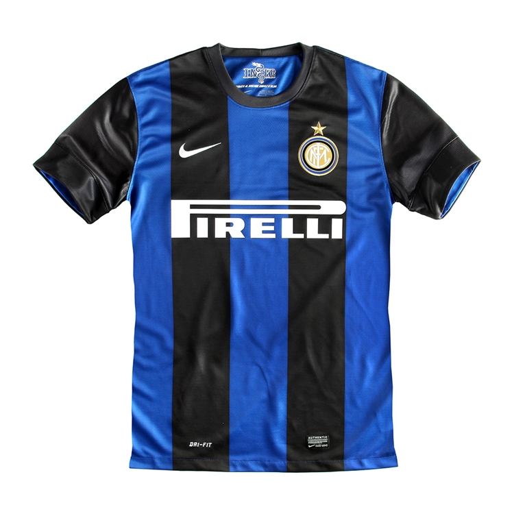 1ea80caad Nike Inter Milan Home 2012-2013 Youth Replica Soccer Jersey (Black Royal  Blue