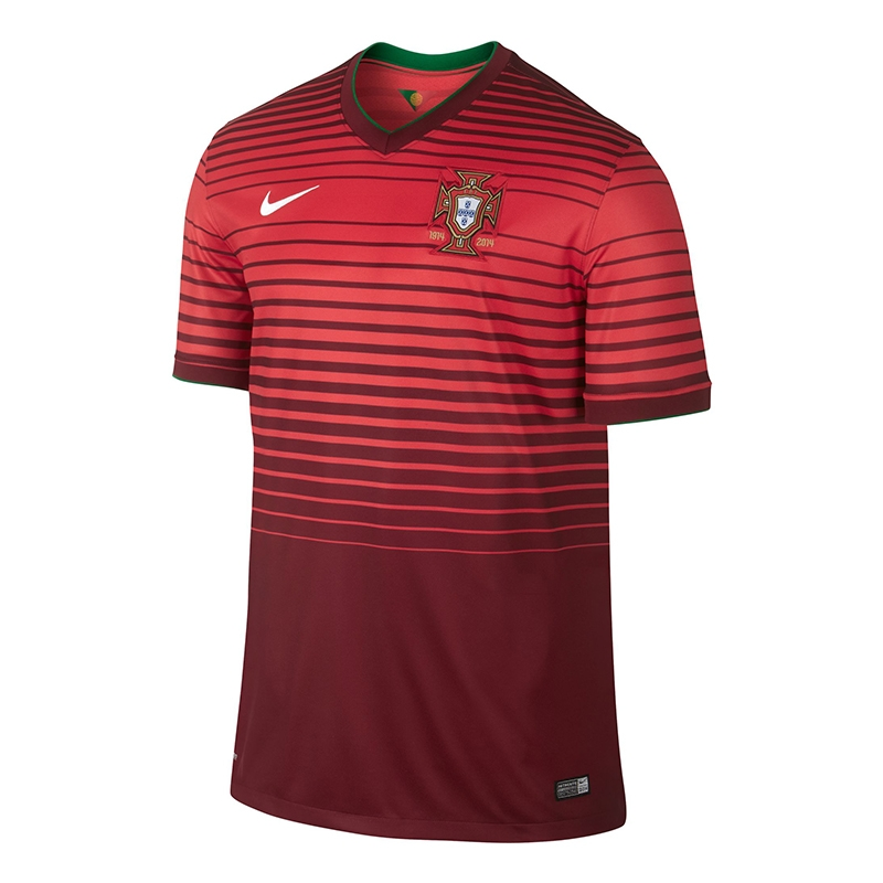more photos b8df9 75b28 Nike Portugal Home 2014 Youth Replica Soccer Jersey