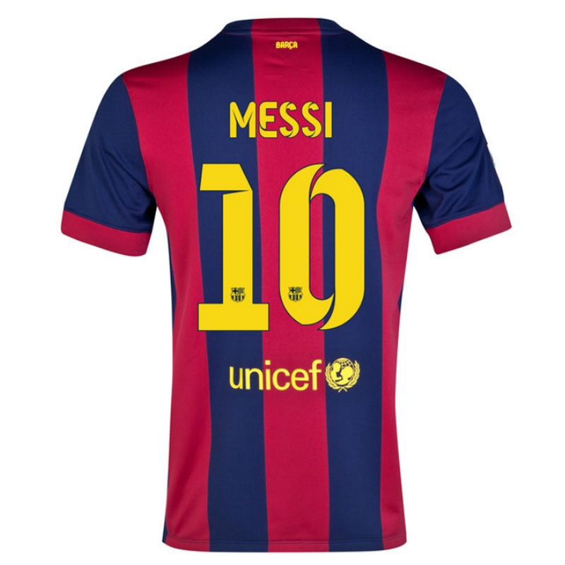 premium selection 71d32 bd343 Nike FC Barcelona 'MESSI 10' Home '14-'15 Youth Soccer Jersey