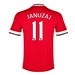 Nike Manchester United 'JANUZAJ 11' Home '14-'15 Youth Replica Soccer Jersey (Diablo Red/Football White)