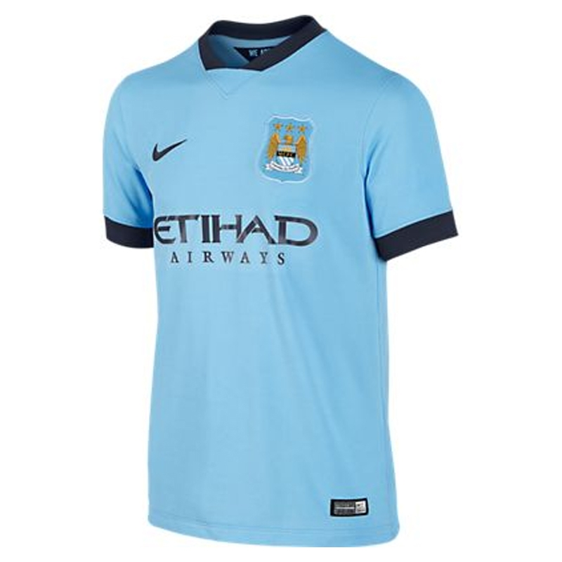 hot sales dadf7 7eba3 Nike Manchester City Youth Home '14-'15 Soccer Jersey