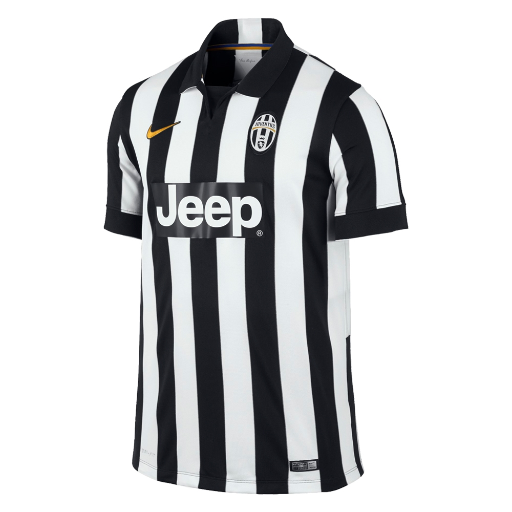 0f9499e0d Nike Juventus  14- 15 Youth Home Soccer Jersey (Football White Black ...