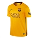 Nike FC Barcelona Away '15-'16 Youth Stadium Soccer Jersey (University Gold/University Red/Loyal Blue)
