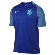 Nike Youth Holland Dutch 2016 Stadium Away Soccer Jersey (Concord/Clearwater)