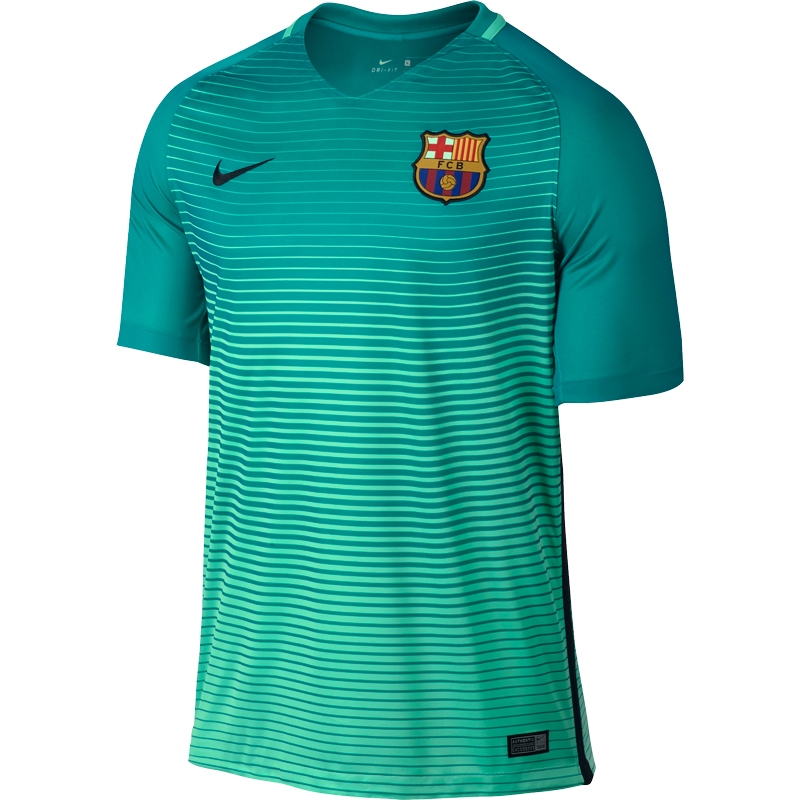 separation shoes dffb3 8364e Nike FC Barcelona Youth 'MESSI 10' '16-'17 Third Soccer Jersey (Green  Glow/Energy/Black)