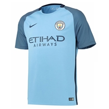Nike Youth Manchester City Home '16-'17 Soccer Stadium Jersey (Field Blue/Midnight Navy)