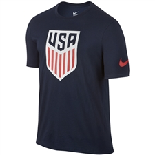 Nike Youth USA Crest T-shirt (Obsidian)