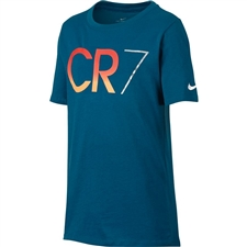 Nike Youth Ronaldo CR7 T-Shirt (Industrial Blue)