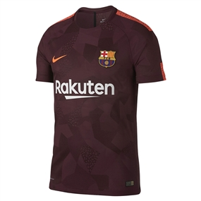 online retailer 99348 ca198 Nike FC Barcelona Youth 'MESSI 10' '17-'18 Third Soccer Jersey (Night  Maroon/Hyper Crimson)