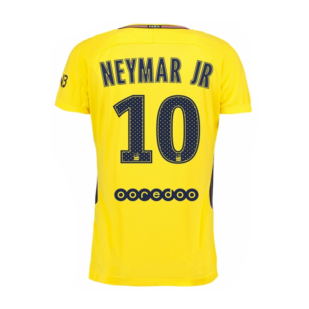 36a59701986 Nike Paris St. Germain Youth  NEYMAR 10  Away  17- 18 Soccer Jersey ...