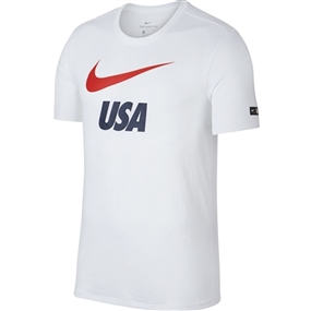 Nike Youth USA Preseason T-shirt (White)