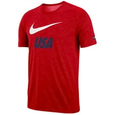 Nike Youth USA Preseason T-shirt (University Red)