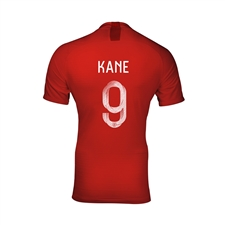 Nike England Youth 'KANE 9' Away Stadium Jersey '18-'19 (Challenge Red/Gym Red/White)