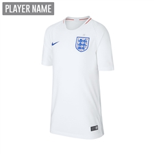 Nike England Youth Home Stadium Jersey '18-'19 (White/Sport Royal)