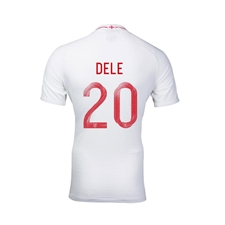 Nike Youth England 'DELE 20' Home Stadium Jersey '18-'19 (White/Sport Royal)