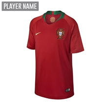 Nike Portugal Youth Home Stadium Jersey '18-'19 (Gym Red)