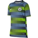 Nike Youth Manchester City Squad Top (Volt/Field Blue/Dark Obsidian/White)