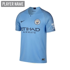 Nike Youth Manchester City Home Stadium Jersey '18-'19 (Field Blue/Midnight Navy)