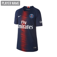Nike Youth Paris St. Germain Home Stadium Jersey '18-'19 (Midnight Navy/White)