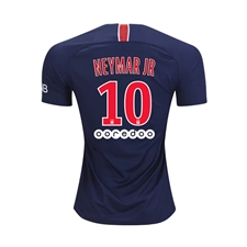 Nike Youth Paris St. Germain 'NEYMAR JR 10' Home Stadium Jersey '18-'19 (Midnight Navy/White)