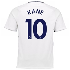 Nike Tottenham Youth 'KANE 10' Home '17-'18 Soccer Jersey (White/Binary Blue)