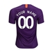 Nike Youth Manchester City 'CUSTOM' Third Stadium Jersey '18-'19 (Night Purple)