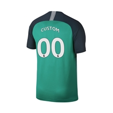 Nike Youth Tottenham 'CUSTOM' Third Stadium Jersey '18-'19 (Neptune Green/Armory Navy)