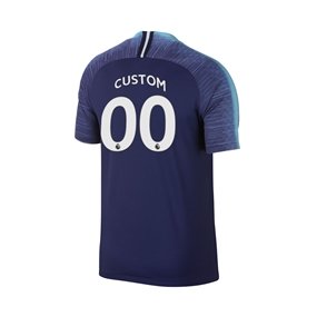 Nike Youth Tottenham 'CUSTOM' Away Stadium Jersey '18-'19 (Binary Blue/White)