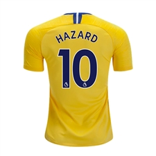Nike Youth Chelsea 'HAZARD 10' Away Stadium Jersey '18-'19 (Tour Yellow/Rush Blue)